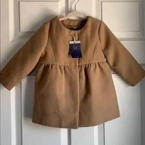 Fully lined wool coat